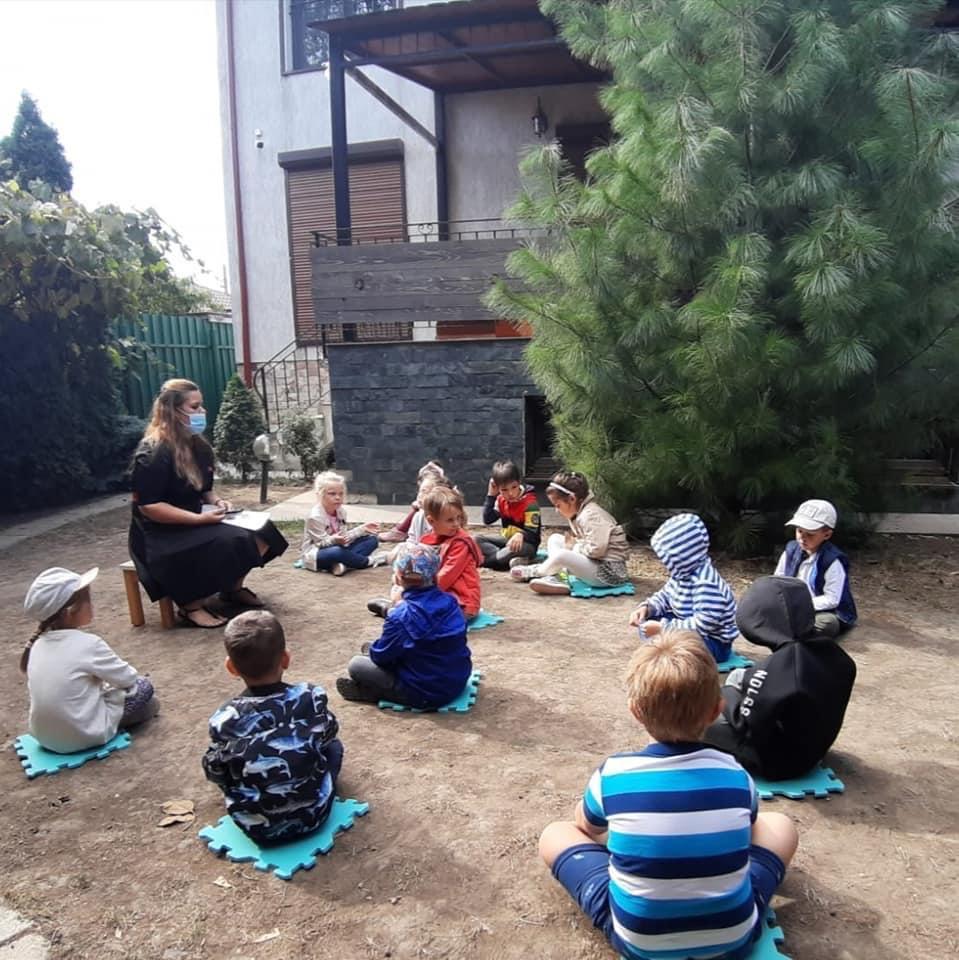 Grădinița Căsuța din pădure • activități în aer liber